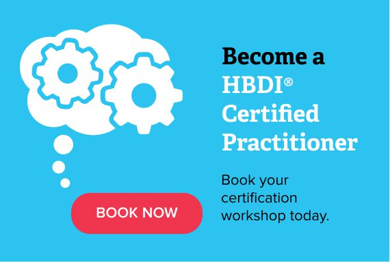 Become a HBDI Certified Practitioner